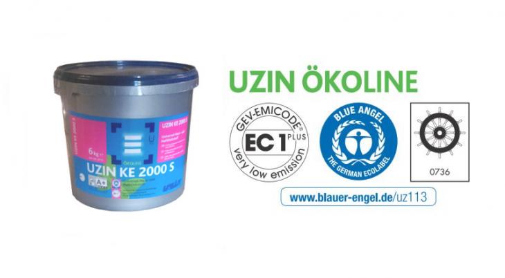 Universalūs klijai lanksčioms dangoms UZIN KE 2000 S, 6 kg