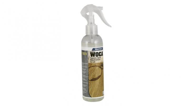 Dėmių valiklis medinėms grindims Woca Tanin Spot Neutralizer, 0,25 L