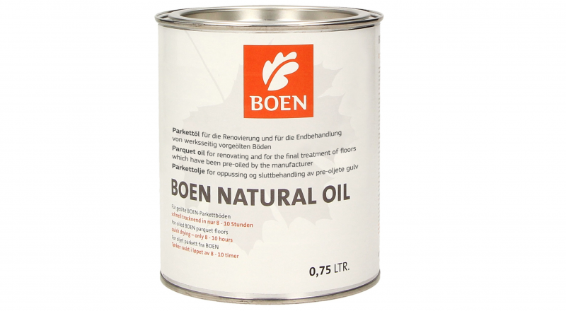 Alyva medinėms grindims Boen Natural Oil, 0.75 L nuotrauka