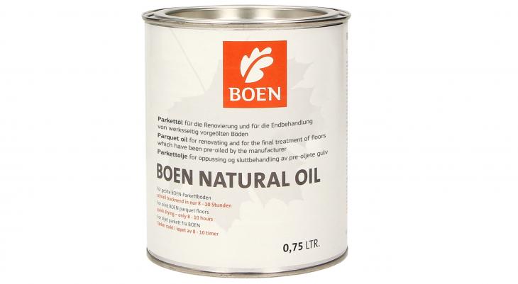 Alyva medinėms grindims Boen Natural Oil, 0.75 L
