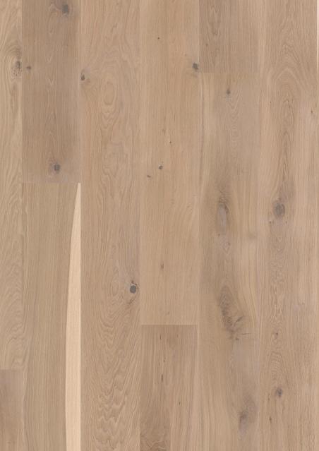 Trisluoksnė parketlentė Boen Plank Ąžuolas White Vivo 181 MM 2 rūšis