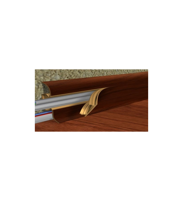 Plastikinė grindjuostė VOX 21*55 MM