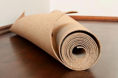Paklotas medinėms ir laminuotoms grindims Wicanders kamštis 2mm