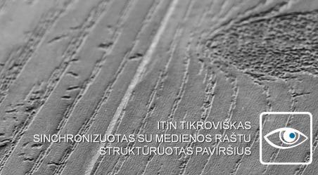Vinilo danga Wicanders Wood Hydrocork Ąžuolas Sawn Bisque