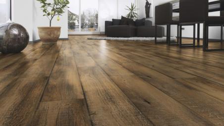 Laminuotos grindys Kaindl AQUApro Supreme 12.0 Standard (CB) Cabana Evora