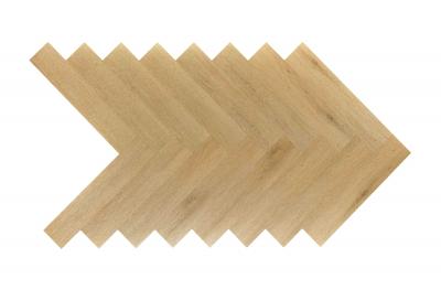Akustinė SPC vinilinė grindų danga Nomad Flo Heringbone Minaya