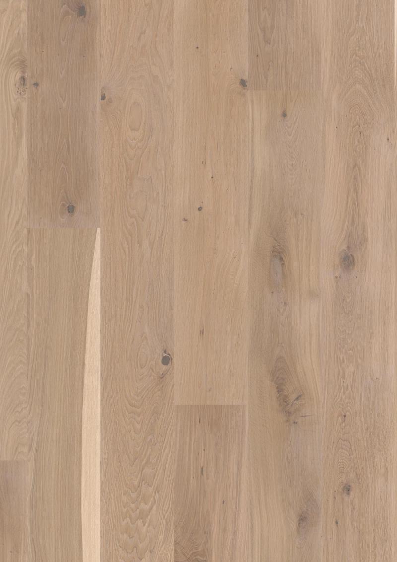 Trisluoksnė parketlentė Boen Plank Ąžuolas White Vivo 2 rūšis